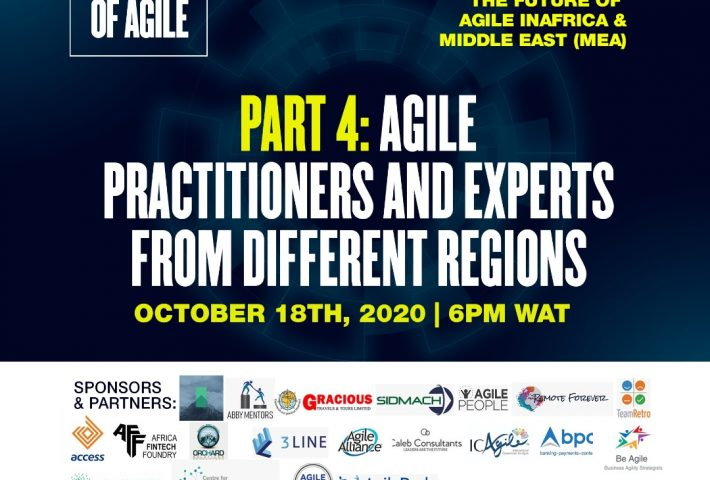 The Future of Agile in Africa & Middle East (MEA) Edition 1 (series4).