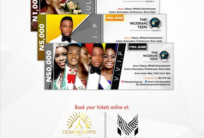 The Nigerian Teen 2020 Ticket