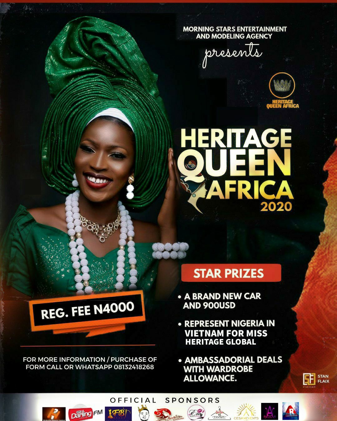 HERITAGE QUEEN AFRICA BEAUTY PAGEANT
